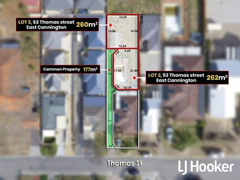 Lot 2 & 3/53 Thomas Street East Cannington, WA 6107