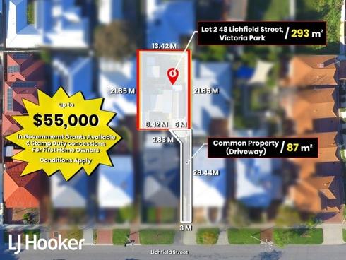 Lot 2/48 Lichfield Street Victoria Park, WA 6100