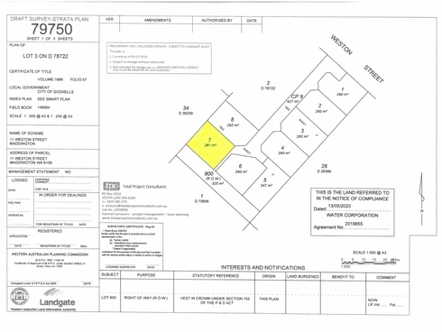 Lot 7/11 Weston Street Maddington, WA 6109