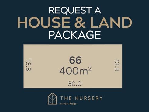 Lot 66/74 Bumstead Road Park Ridge, QLD 4125