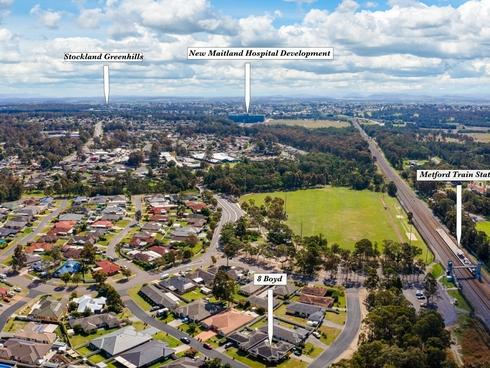 Unit 2/8 Boyd Avenue Metford, NSW 2323
