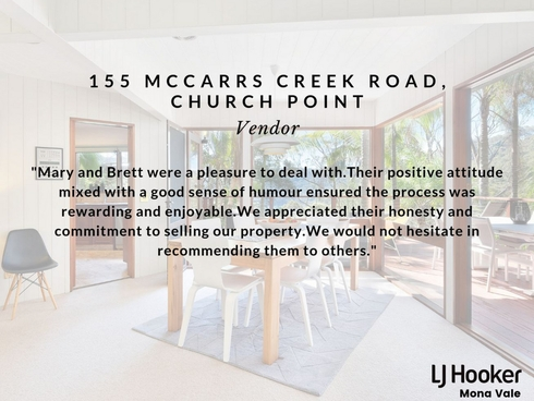 155 McCarrs Creek Road Church Point, NSW 2105