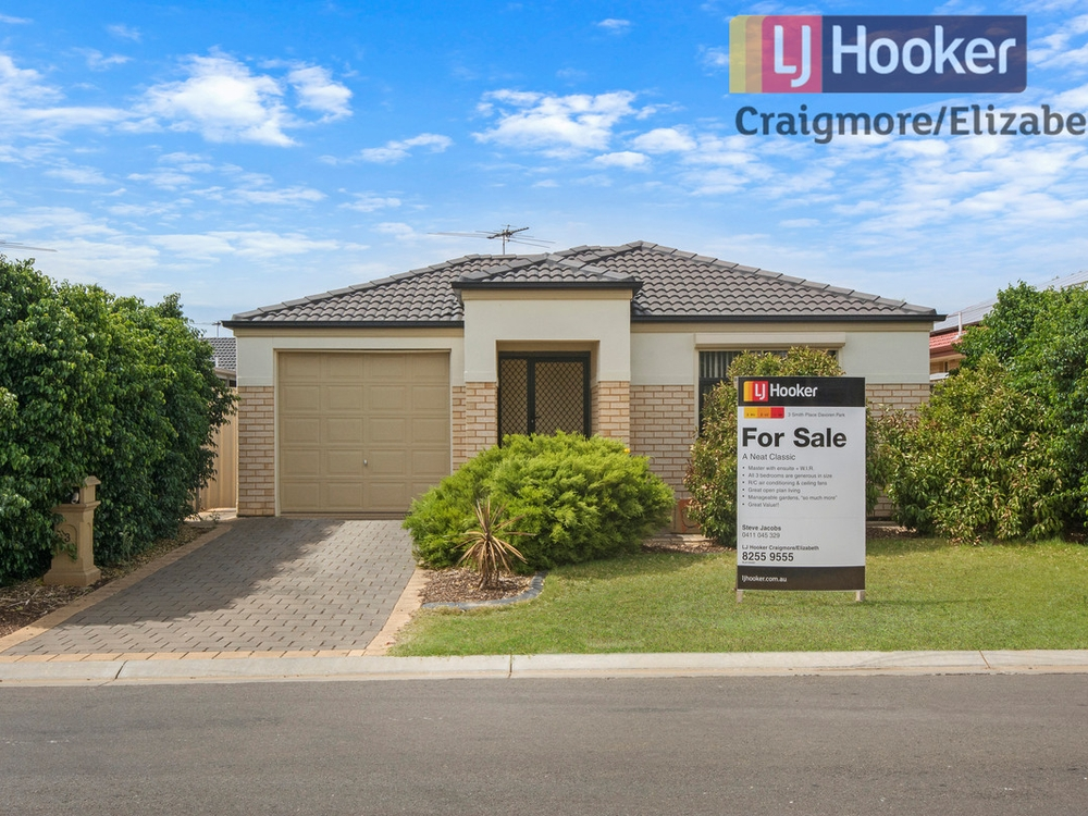 3 Smith Place Davoren Park, SA 5113