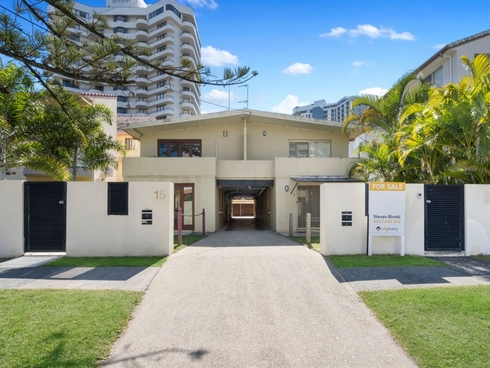 3/15 Frederick Street Surfers Paradise, QLD 4217