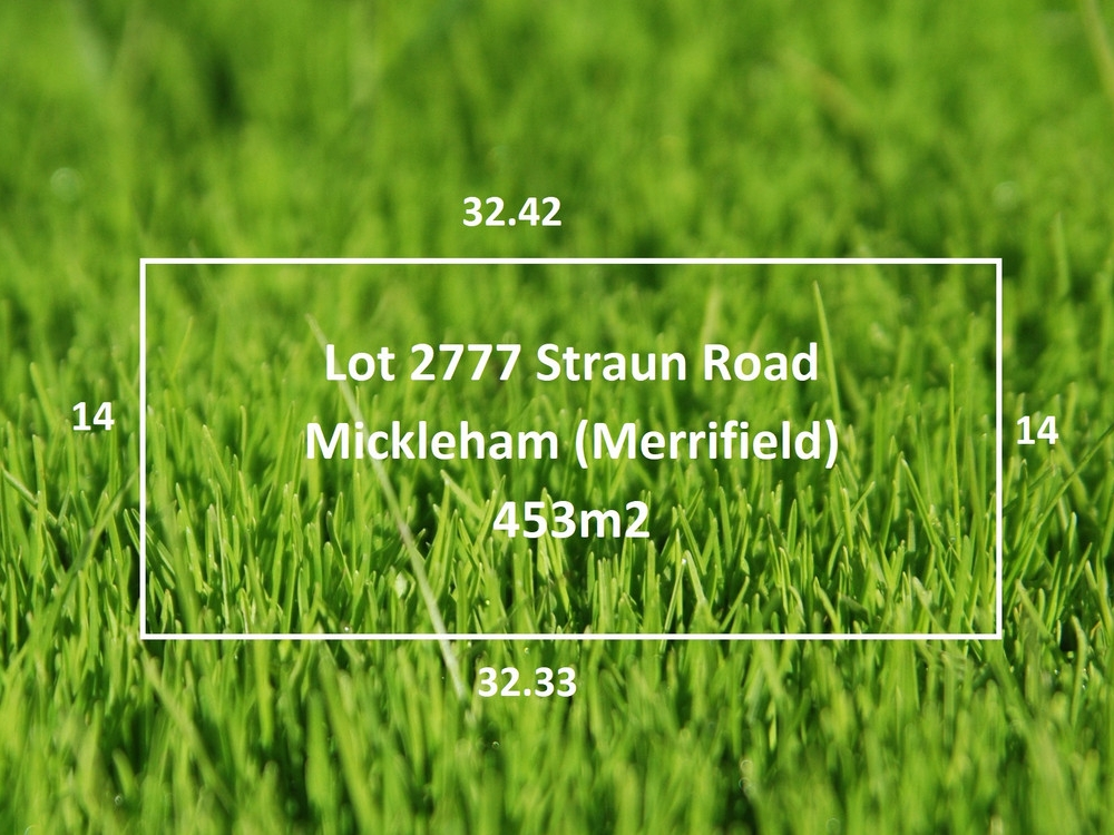 Lot 2777 Straun Road Mickleham, VIC 3064