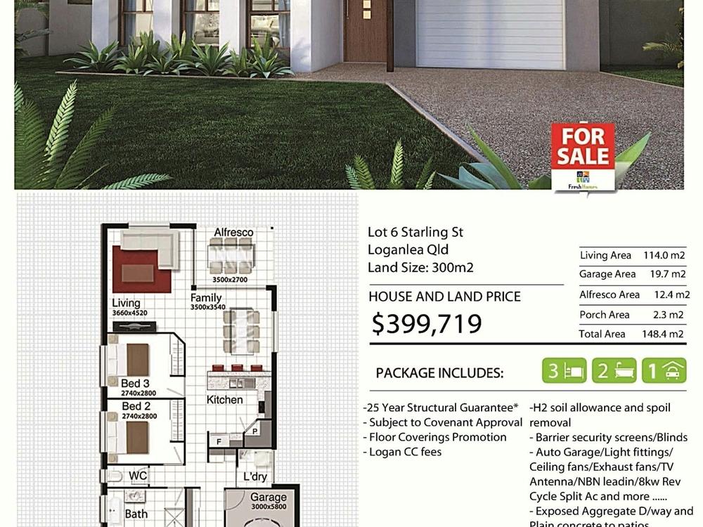 6 Starling Street Loganlea, QLD 4131